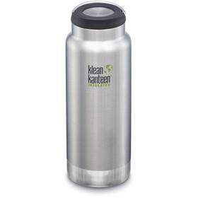 Klean Kanteen TKWide Flaske med rustfri stål 946ml vakuumisoleret, sølv